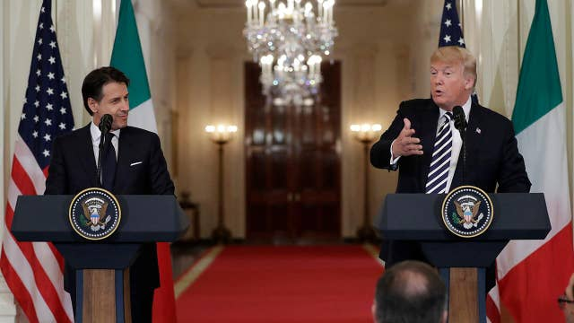 What to take away from the Trump-Conte press conference