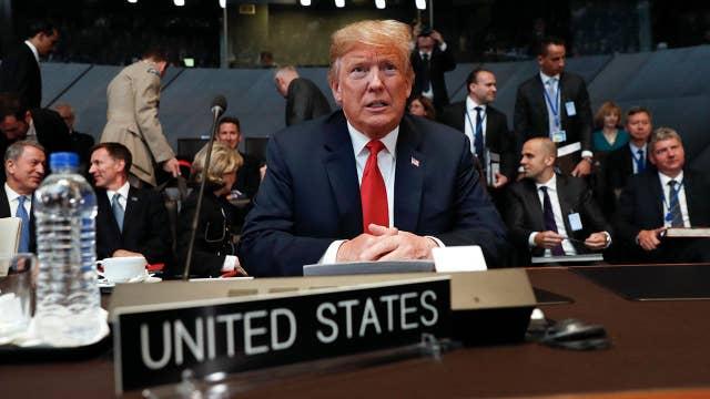 Trump pressures allies to boost NATO defense spending