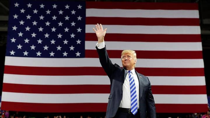 Trump talks trade, job growth at MAGA rally in West Virginia