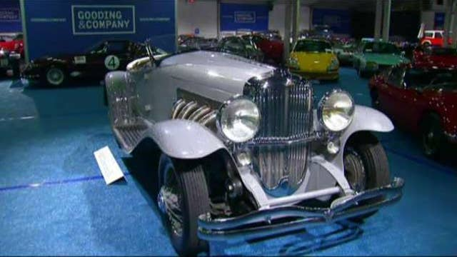 Highlights from classic car auction in Pebble Beach