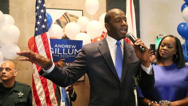 Democrat Andrew Gillum looks to raise taxes in Florida