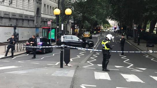 London car crash being treated as terrorism
