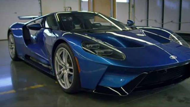 Inside the Ford GT supercar