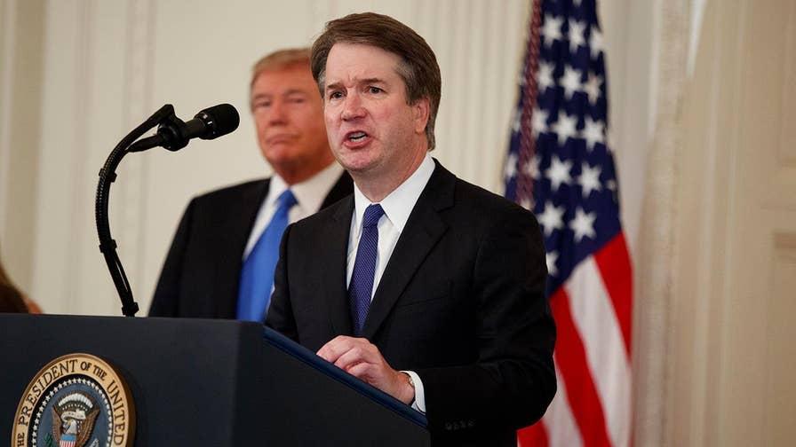 Fox News senior judicial Judge Andrew Napolitano on President Trump's Supreme Court nominee Brett Kavanaugh.