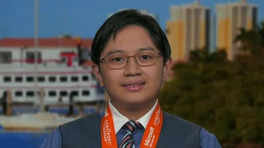 Microsoft Excel world champion at 15-years old