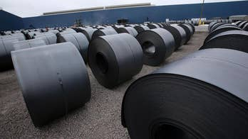 FBN's Adam Shapiro on how Trump's tariffs on steel and aluminum are impacting U.S. companies.