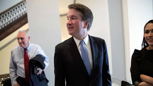 Democrats look to stonewall Kavanaugh's confirmation hearings