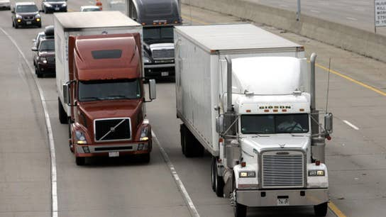 Long wait for new big rigs causes shipping headaches