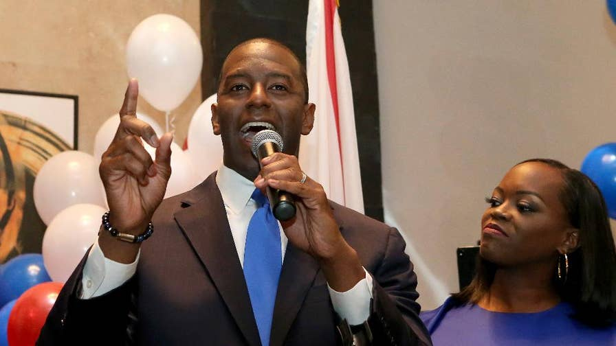 Capri Cafaro, former Ohio Senate minority leader, and CivicForumPAC Chairman Ford O' Connell on how Florida gubernatorial nominee Rep. Ron DeSantis, who was endorsed by President Trump, will face off against Democrat Andrew Gillum.