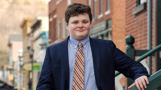 Democratic candidate in Vermont Governor's race is only 14 years old