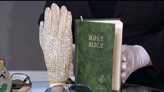 Bid on Michael Jackson's glove at auction