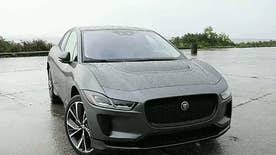 FoxNews.com automotive editor Gary Gastelu discusses why he was impressed with Jaguar's all-electric SUV and compared it to Tesla's electric car.