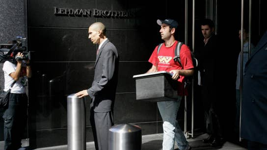 What caused the collapse of Lehman Brothers?