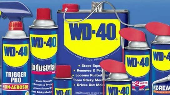 WD-40 celebrating its 65th anniversary