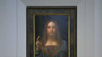 """Leonardo da Vinci's """"Salvator Mundi,"""" or """"Savior of the World"""" was lost for half a century before a Louisiana family unknowingly own the artwork and sold it for $10,000. The painting fetched for $450.3 million at an auction."""