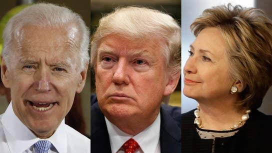 Biden, Clinton renew old rivalry with Trump