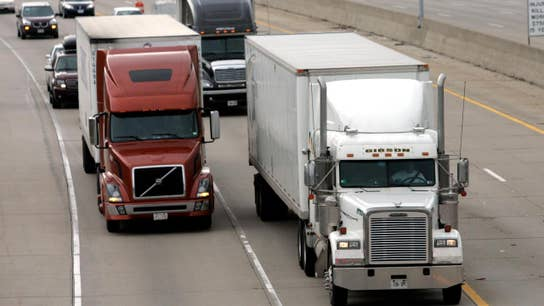 Trucking jobs not at risk from driverless technology?