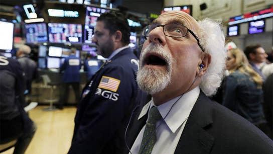 Tech stocks lead major selloff as Dow plummets 832 points