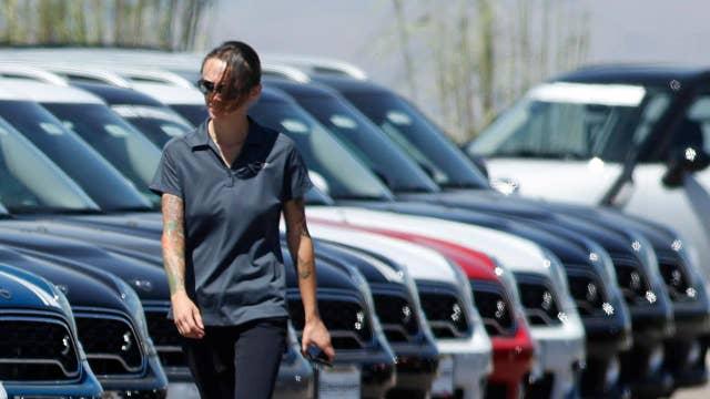 Auto lenders rein in financing deals; Walmart goes Hollywood