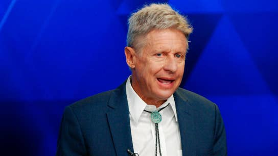 US national debt is the biggest issue facing this country: Gary Johnson