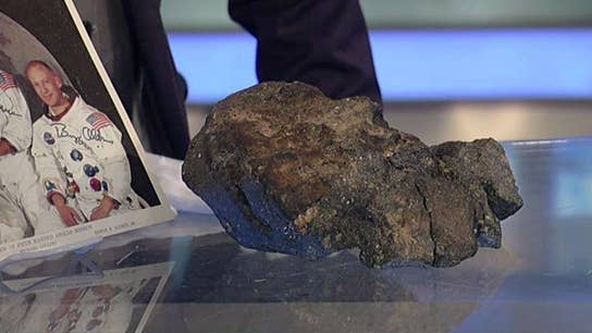 Lunar meteorite could fetch out of this world price at auction