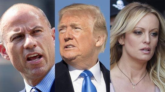Trump: Stormy Daniels, Michael Avenatti must pay my legal fees