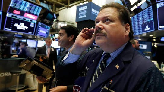 Stocks lower to start the week