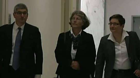 Nellie Ohr invokes marital privilege during testimony on Capitol Hill