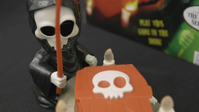 Toy manufacturers having fun with Halloween