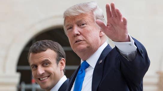 Trump vs. Macron on nationalism