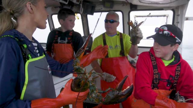 Maine lobster fishing family business tradition continues for generations