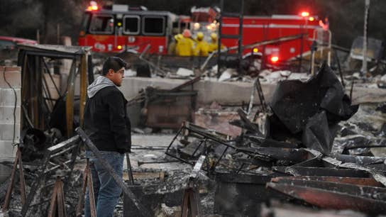 The rebuilding process after the deadly California wildfires