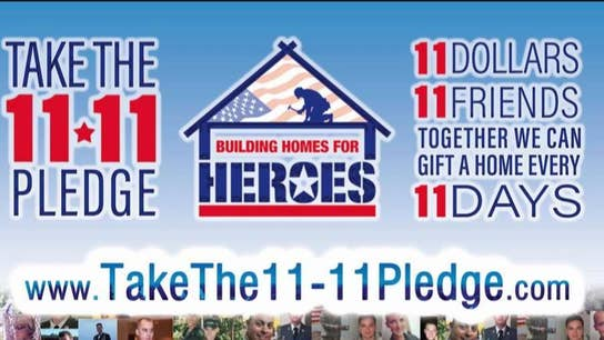 Building Homes for Heroes honors veterans with Take The 11-11 Pledge