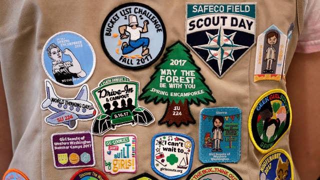 Girl Scouts sue Boy Scouts; Wells Fargo error