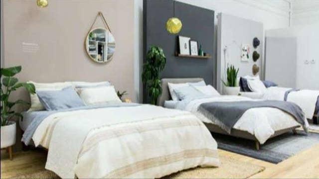 Luxury online bedding company Brooklinen opens pop up shop