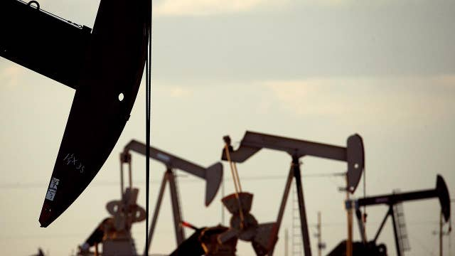 Oil prices fall to a 16-month low
