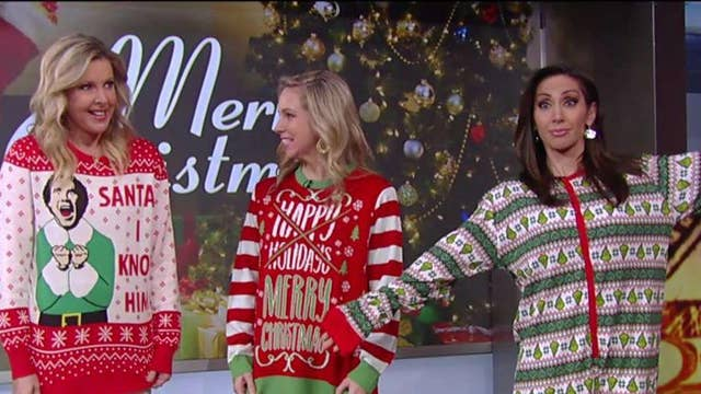 Big business of ugly Christmas sweaters
