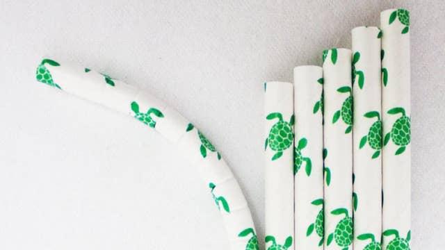 Paper straw demand up 5,000 percent since plastic ban