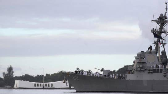 Pearl Harbor attack remembered 77 years later