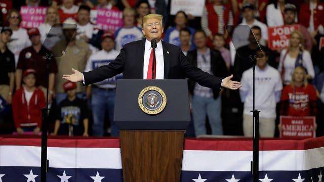 Trump touts trade talks with China after market selloff