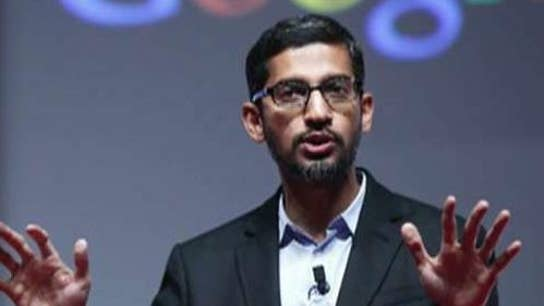 Google CEO faces the hot seat on Capitol Hill