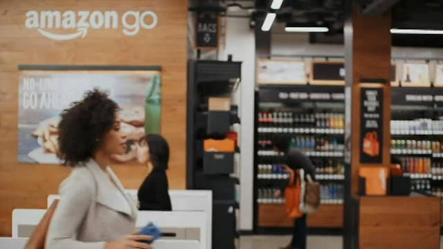 Amazon on the go; Facebook pop up in the Big Apple