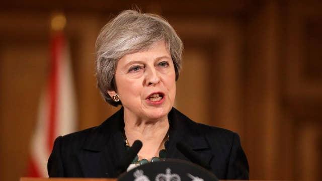 British PM Theresa May wins confidence vote