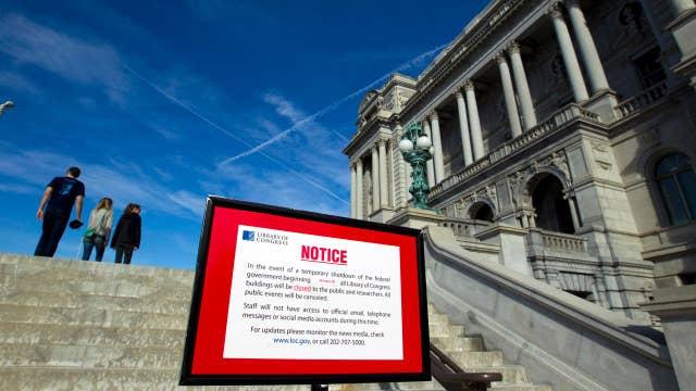 Will a government shutdown put pressure on Democrats?