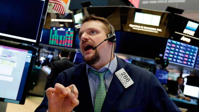 Stocks claw back after dipping into negative territory