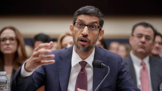 Rep. Jordan on Google CEO's push back against bias