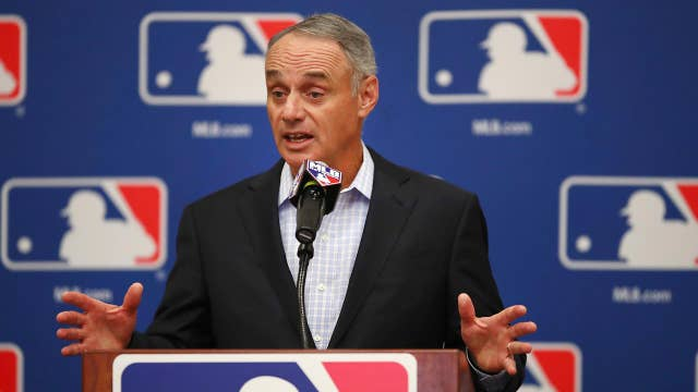 Digital streaming presents 'real opportunity' for MLB, commissioner says