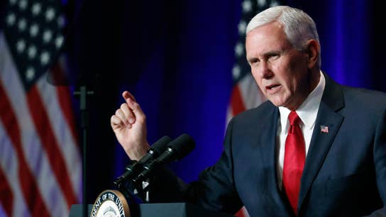 Pence declares ISIS defeat