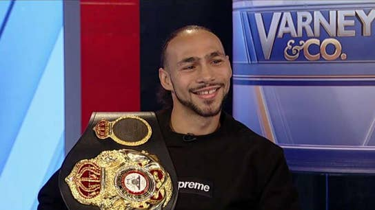 Boxer Keith Thurman: After my first HBO fight I made $125K and said, 'You're not allowed to buy anything but a Prius'