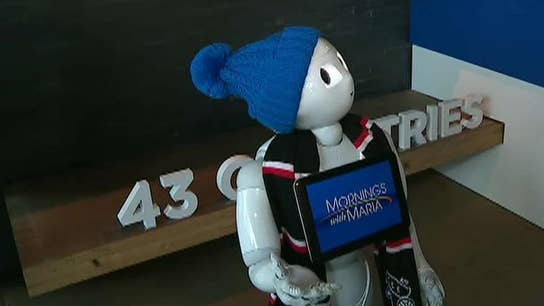 Pepper the Robot weighs in on market volatility